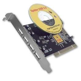 SpiderII USB 2.0 Hi-Speed card for Mediator PCI