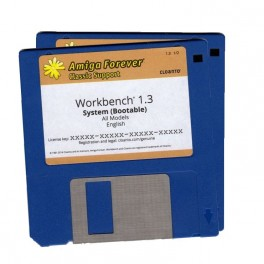 Workbench 1.3 Disk Set Cloanto Edition