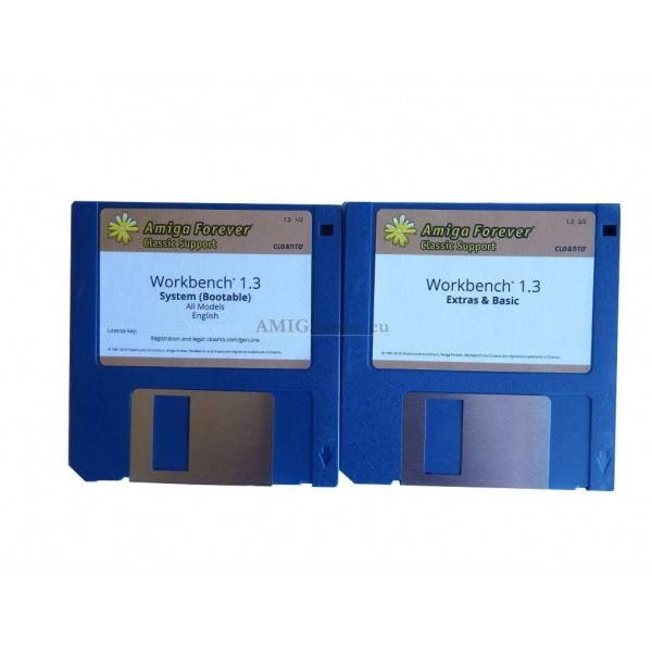 Workbench 1 3 Disk Set Cloanto Edition - AMIGAstore eu