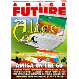Amiga Future 118 + CD