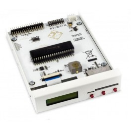 "SD Floppy Emulator 3,5"" bay Rev F white"