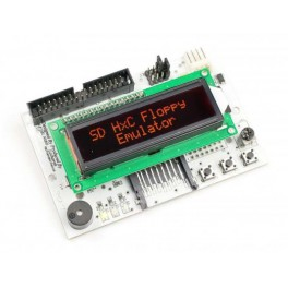 SD Floppy Emulator LCD-display Red REV C