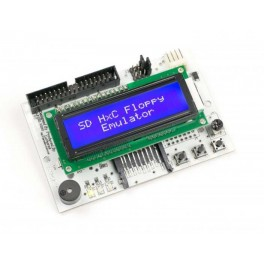 SD Floppy Emulator LCD-display DeepBlue REV C