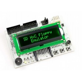SD Floppy Emulator LCD-display  Verde REV C