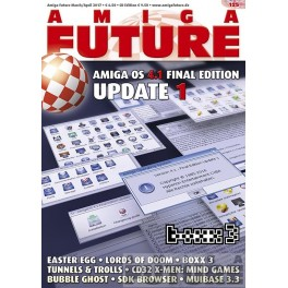 Amiga Future 125 + CD