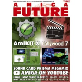 Amiga Future 127 + CD