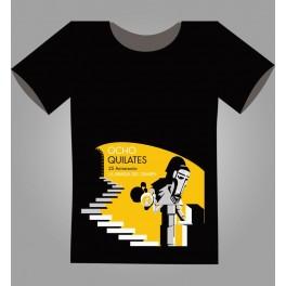 Ocho Quilates - Camiseta de La Abadía del Crimen