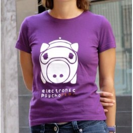 Electronic Psychopig  T-Shirt