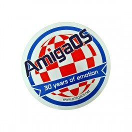 AmigaOS 30 years sticker