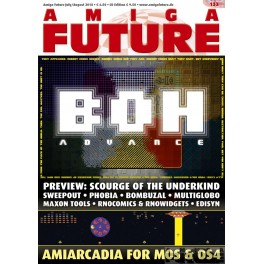 Amiga Future 133 + CD