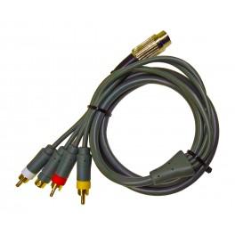 Commodore & Atari HQ Audio-Video Cable