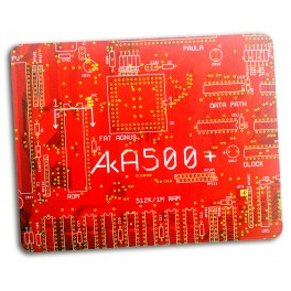 A1K AMIGA A500+ Red PCB MousePad