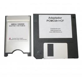 Amiga Compact Flash PCMCIA + Software
