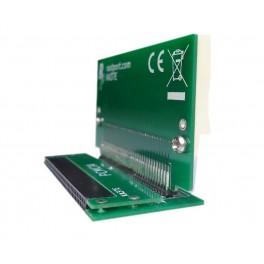 PCMCIA adaptador 90º