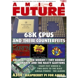 Amiga Future 147 + CD