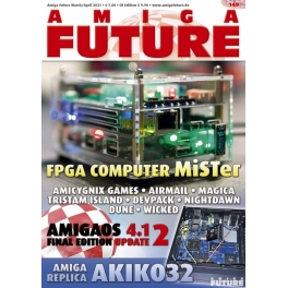 Amiga Future 149 + CD
