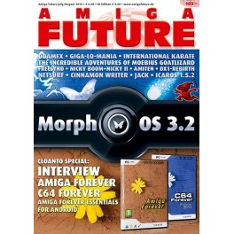 Amiga Future 103 + CD