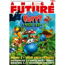 Amiga Future 107 + CD