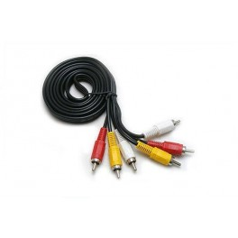 Monitor Cable, Cable 3 RCA Male/3 RCA Male 1,5M