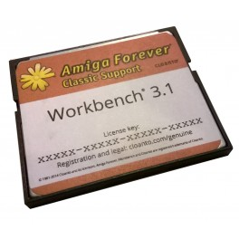 Workbench 3.1 CF Hard Disk Drive by Cloanto