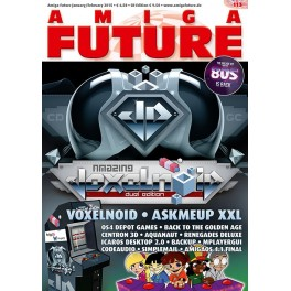 Amiga Future 112 + CD