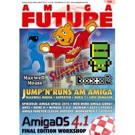 Amiga Future 113 + CD
