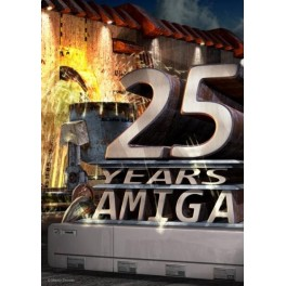 Amiga 25 Years Poster