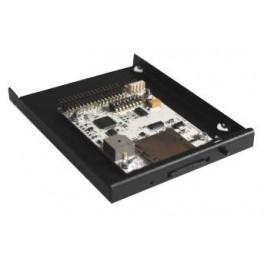 SD Floppy Emulator Slim con carcasa y frontal negro - HE34