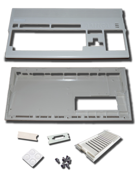 New Amiga 1200 case content