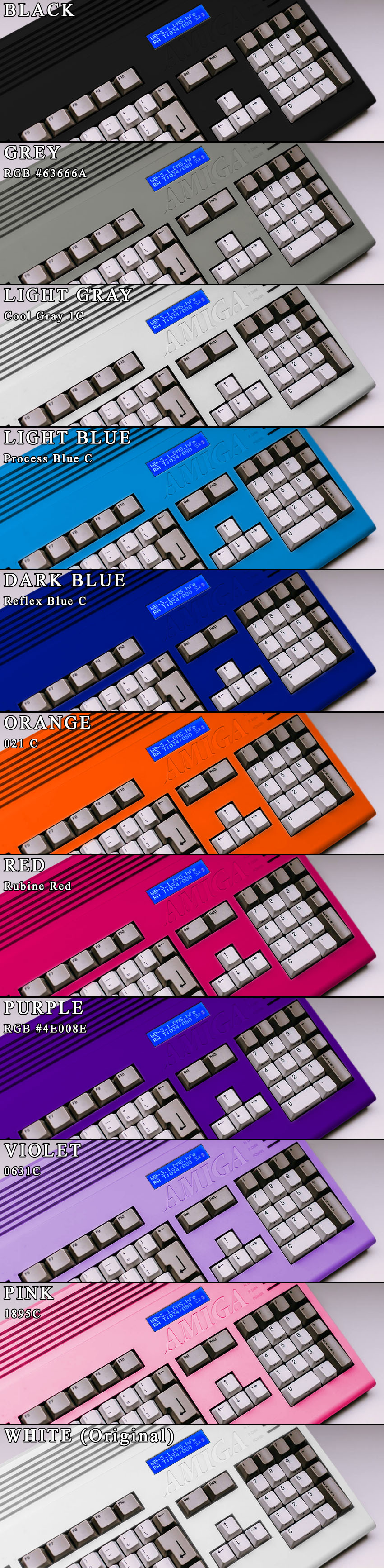 Amiga 1200 case - colours