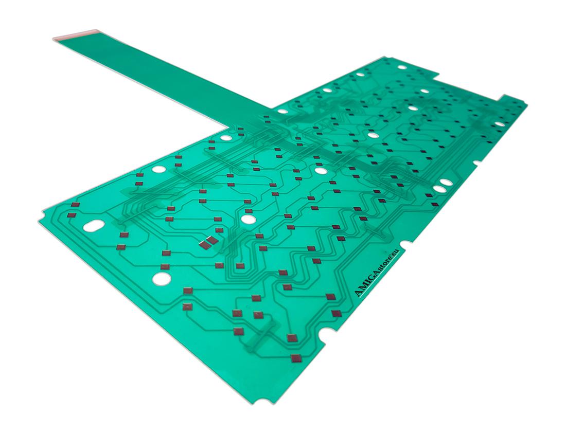 Amiga 600 keyboard membrane - Green