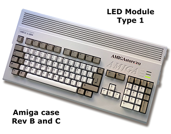 Amiga 1200 LED Board Type I