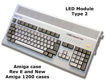 Amiga 1200 LED Board Type II