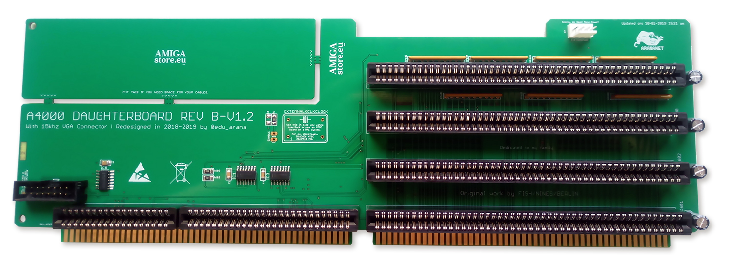 Amiga 4000 Daugher Board B-v1.2