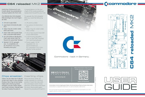 Commodore 64R MK2 User Guide 01