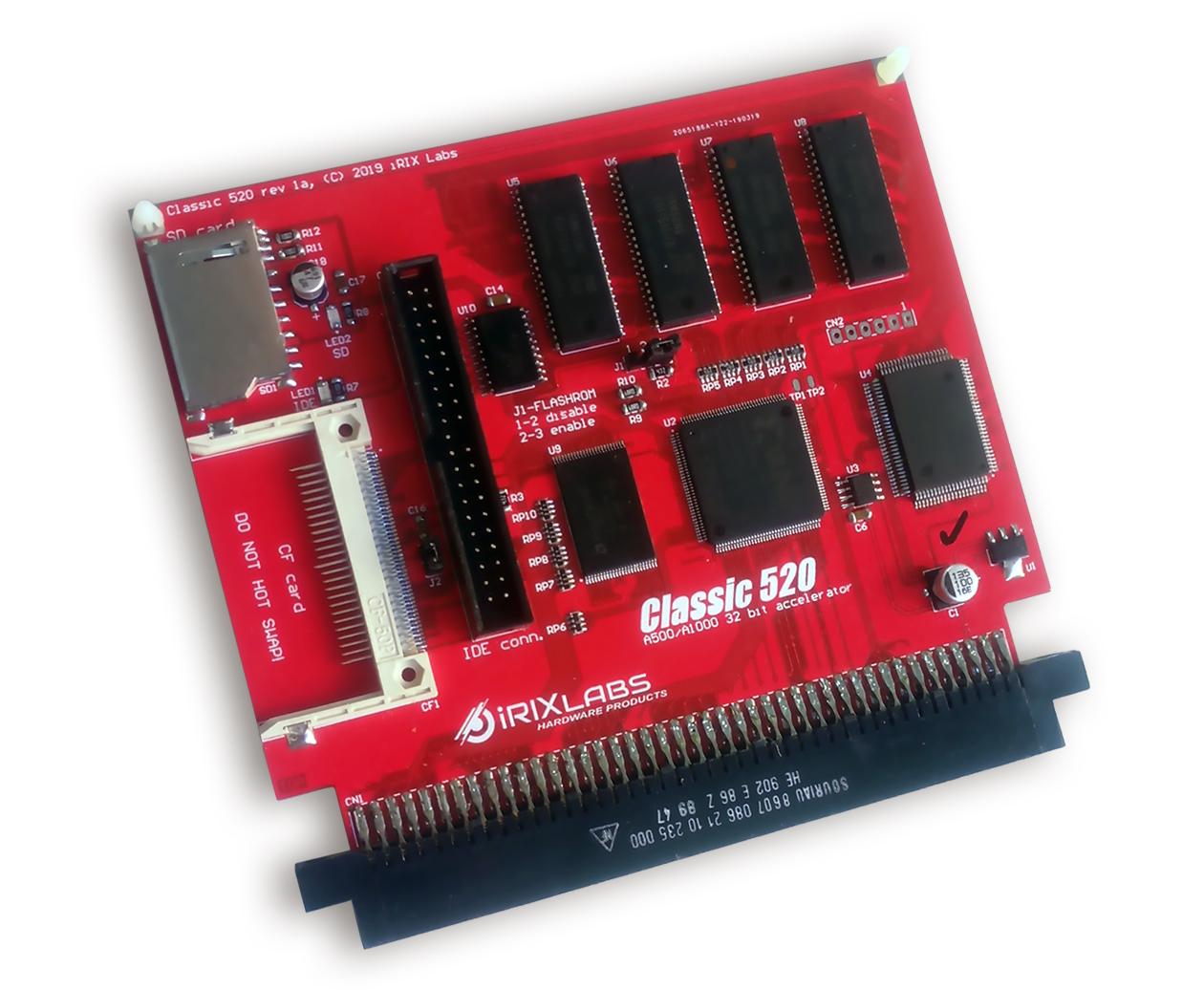 Classic Amiga 520 Front