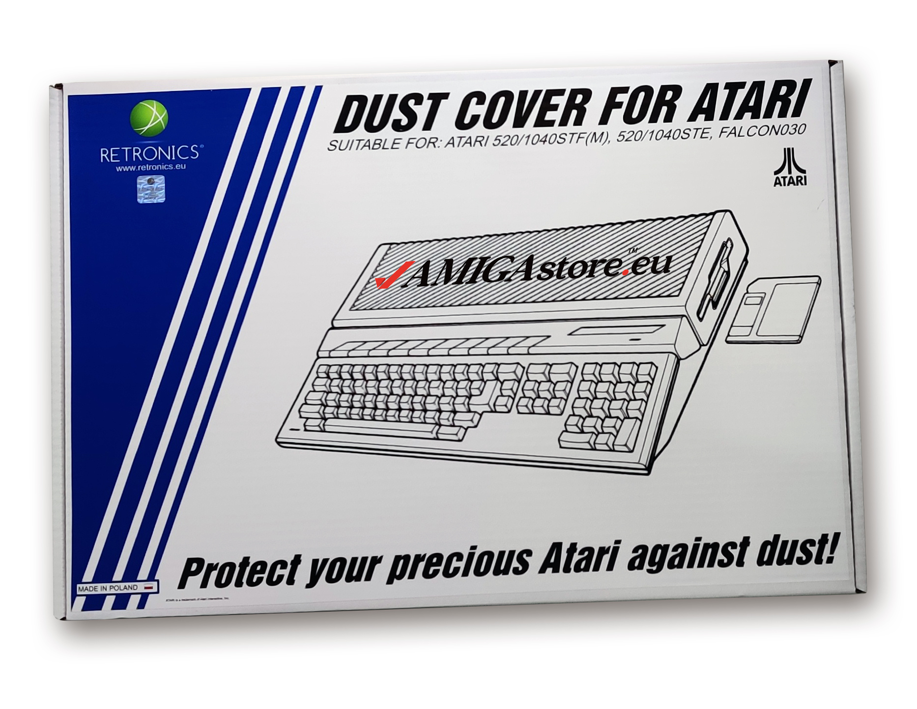Dust Cover for 16-bit Atari Computers