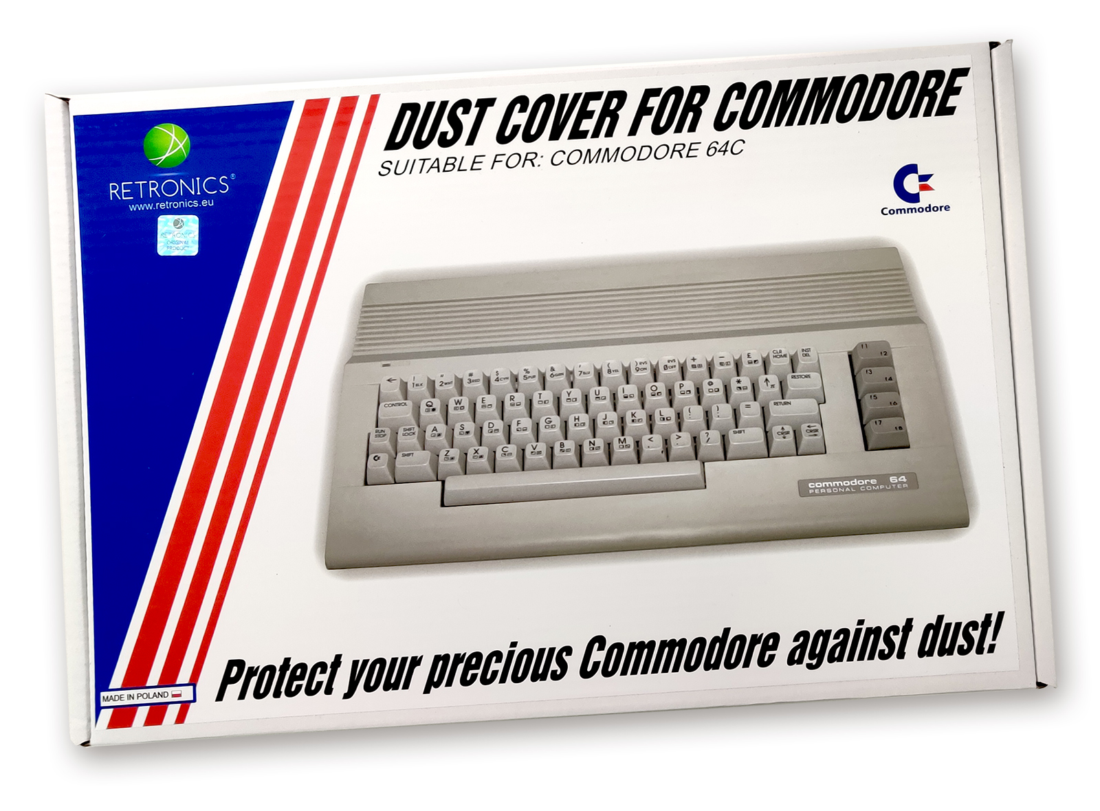 Dust Cover for Commodore C64C