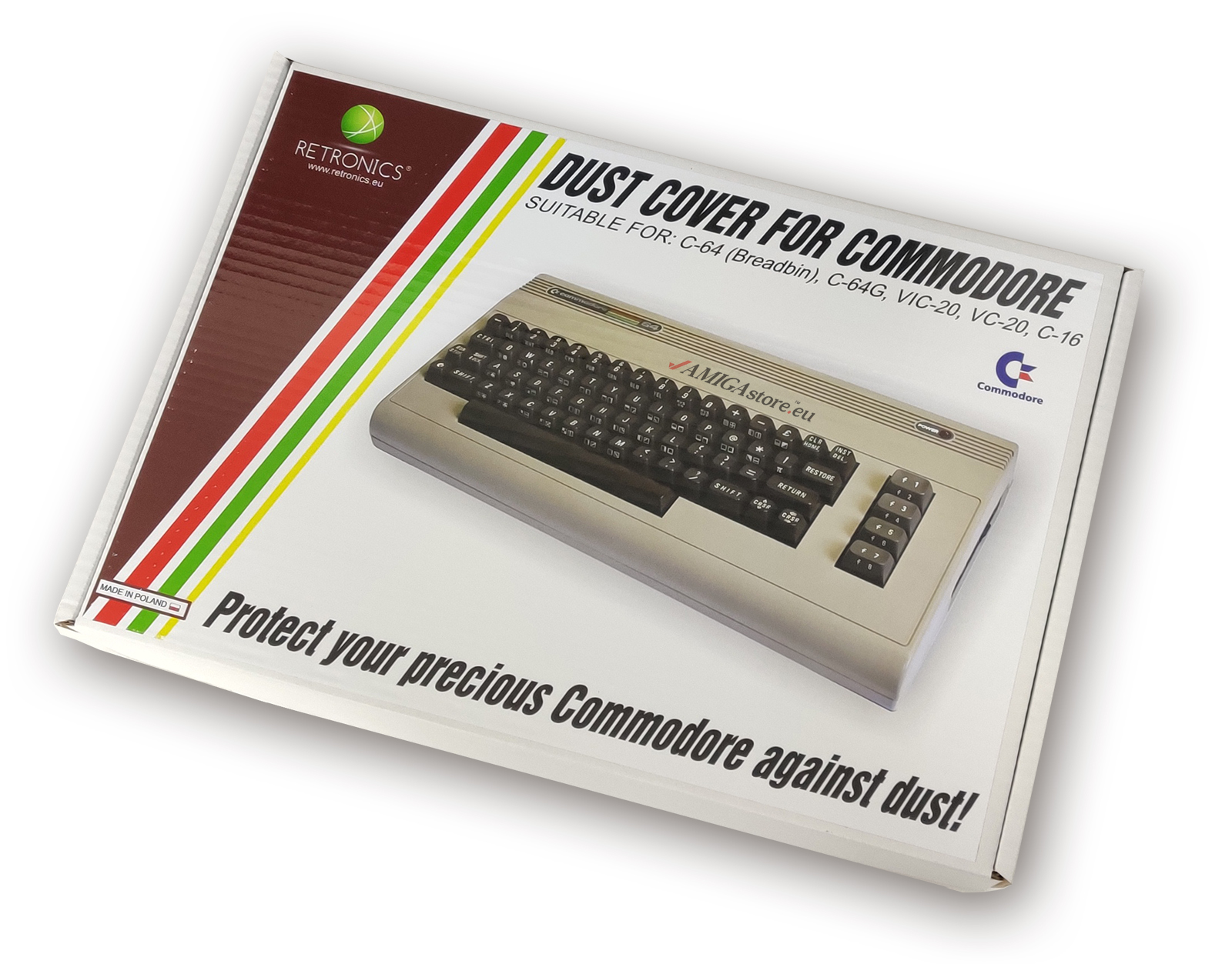 Dust Cover for Commodore Computers
