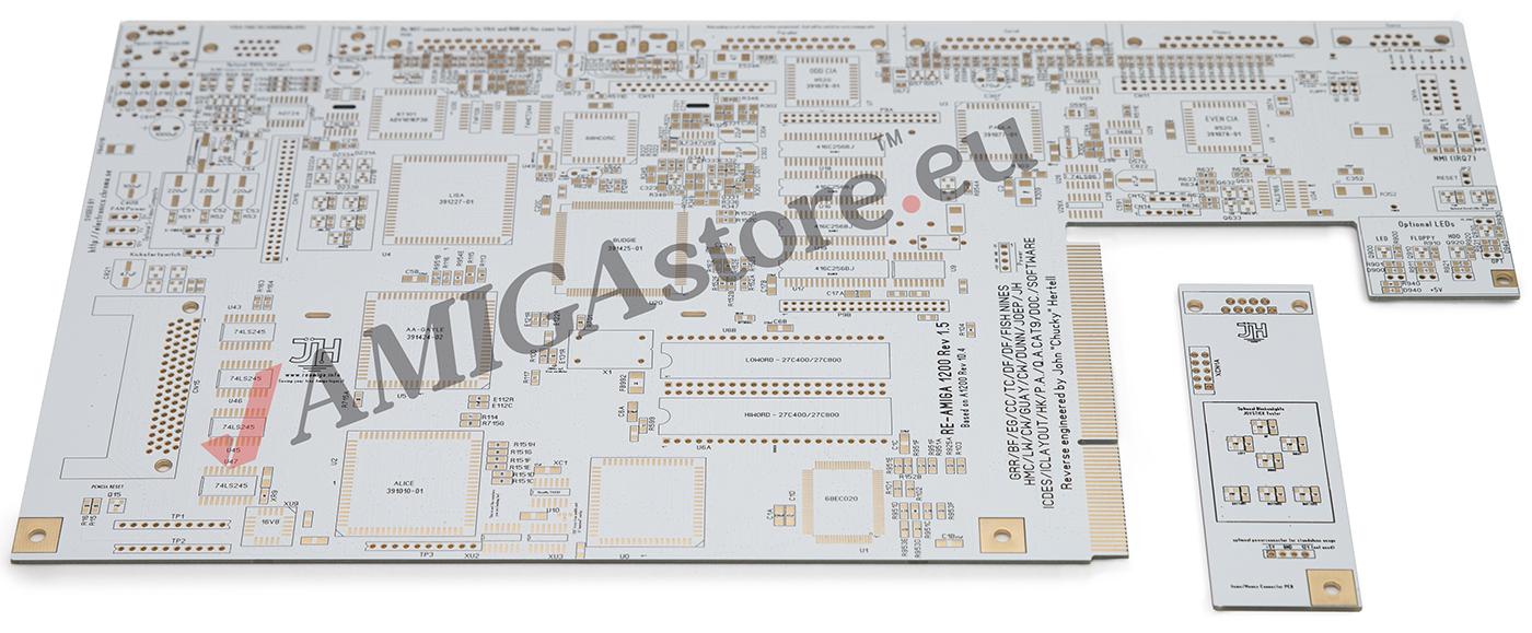 Re-Amiga 1200 motherboard Rev 1.5