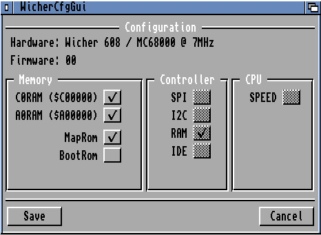 Wicher 608 Configuration Tool